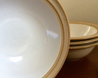 Dansk Sirocco Rustic Vintage Dinner Bowls - Set of 4