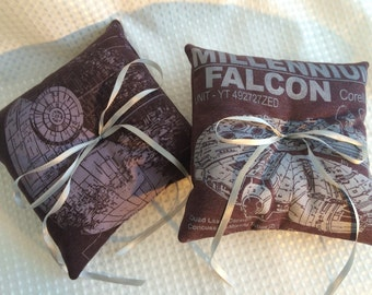 Star Wars Ring Pillows