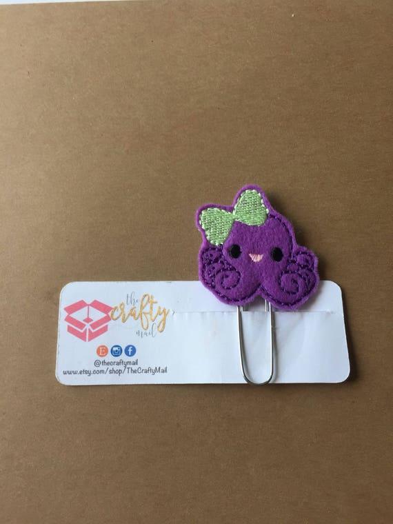 Octopus Clip/Planner Clip/Bookmark. Octopus planner clip