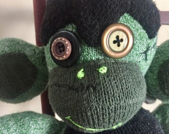 Sock Monkey Frankenstein