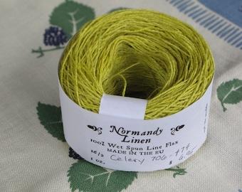 16/2 Celery Normandy Linen