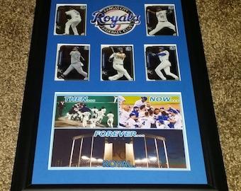 "Kansas City Royals ""Forever Royal"" World Series Champions 11x17"