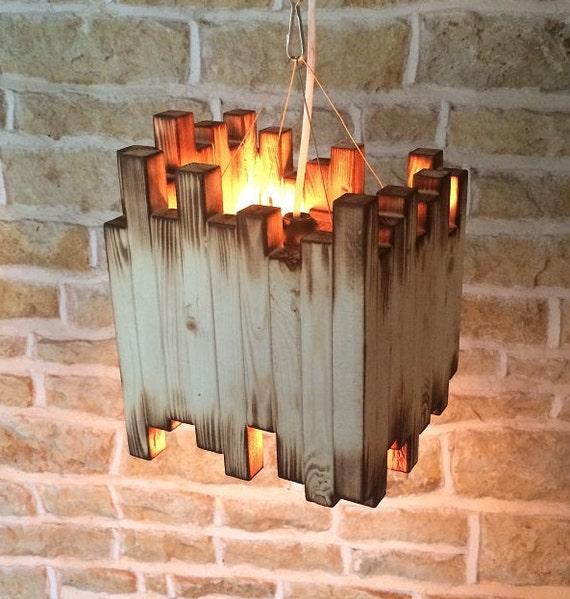 Rustic Wood Light Rustic Ceiling Light Wood Light Fixture: Wood Light Fixture Rustic Ceiling Light Rustic Light Unusual