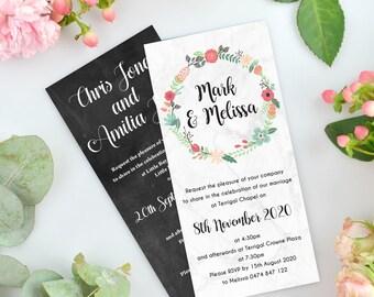 50 x Wedding Invitation Magnets