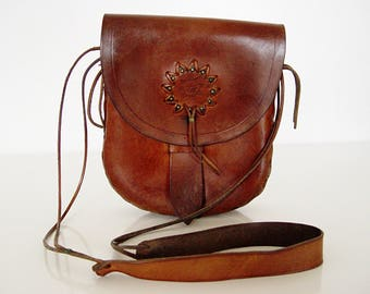 Lovely Old Leather Bags.