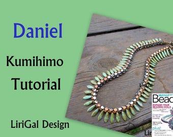 Tutorial Daniel Kumihimo Daggers Necklace PDF