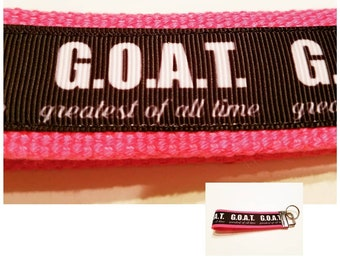 G.O.A.T - Greatest Of All Time - Gift For Her - Greatest Of All Time (G.o.a.t) Lanyard or Key Chain