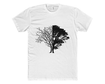 Life And Death T ShirtMenS Cotton Crew Tee