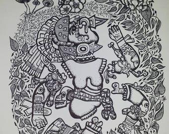 dibujo de mi corazón series 006