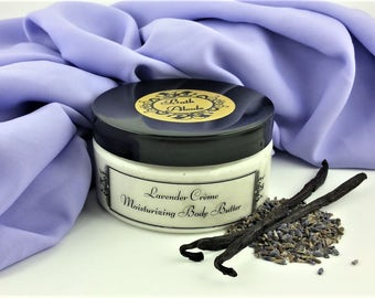Lavender & Vanilla Body Butter - Moisturizer - Body Butter - Hand Cream - Body Cream - Lotion for Dry Skin - Skin Cream -Shea Butter -Lotion