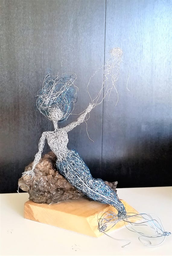 Berühmt Häkeln Sie Draht Skulptur Fotos - Elektrische ...