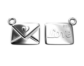 Charm Letter LOVE Sterling Silver 925