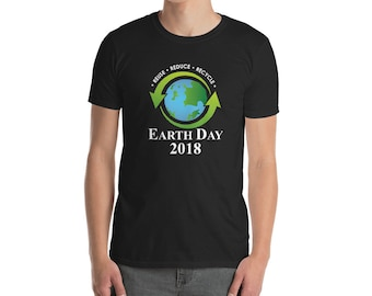 Earth Day 2018 Reuse, Reduce & Recycle Plant A Tree T Shirt, environmental shirt, earth day gifts, climate change tee