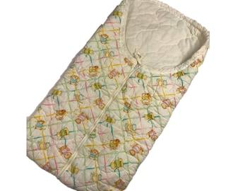 Vintage Baby Sleeping Bag