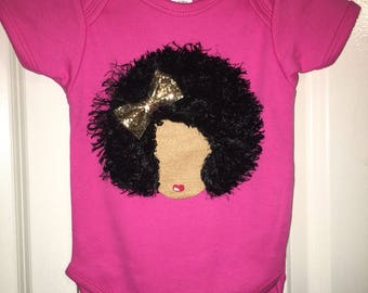 Little girls tote dance bag little girls purse can be african american baby onesie gifts for women baby gift african american baby onesies negle Choice Image