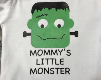 Mommy's Little Monster Onesie