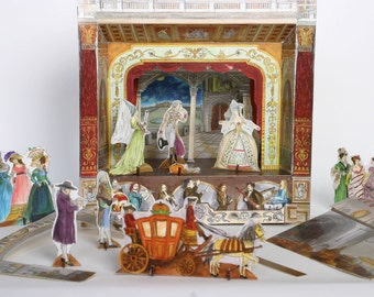 Cinderella - Story Pack for Paper Theatres