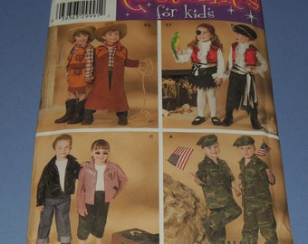 Simplicity Costumes for Kids 3997 sizes 3 to 8 Uncut