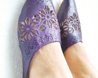 Purple Woman Shoes, Moroccan Shoes, Purple Shoes, Handmade Leather Shoes, Elegant Shoes, Traditional Shoes, Moroccan Style, Fashion Shoes