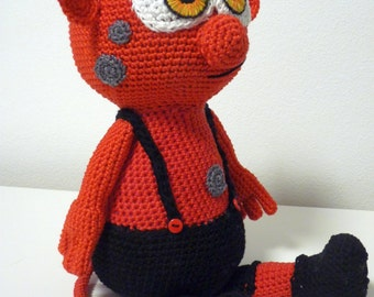 Amigurumi Monster Pattern Free Crochet : Crochet amigurumi patterns animals stuffed toys by skatiedes