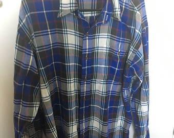 Vintage plaid flannel