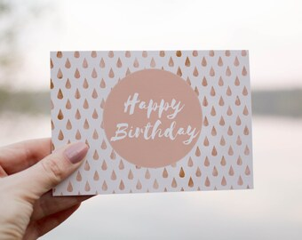 Happy Birthday Card, Printable Cards, Happy Birthday, Cards, Greeting Cards, ThirtyOneSparrows