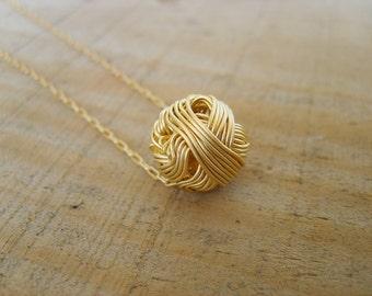 Sale LONG Gold Necklace, Minimalist Necklace, Delicate Gold Necklace, Gold Necklace, Minimalist Pendant, 18k Gold Necklace