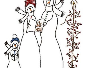 O Holy Night - outline, Machine Embroidery Design