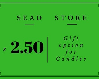 Gift Option For Candles