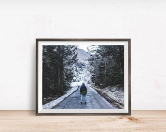Wanderlust Print, Wanderlust Wall Art, Wanderlust Decor, Wanderlust Printable, Wanderlust Art, Printable Wall Art - Instant Download