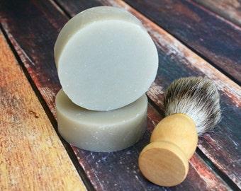 Handmade Shaving Soap / Cold Process Men's Shaving Soap / Artisan Soap