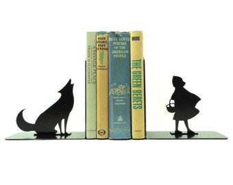 Big Bad Wolf Bookends