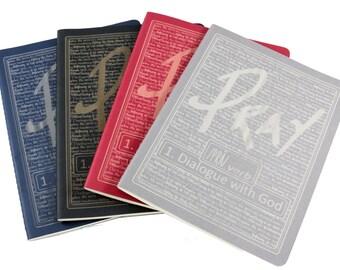 Prayer Journal/ Notes/ Moleskine Journal/ Inspirational/ Bible Verse Journal/ Scripture Journal/Christmas Gift/ Custom Journal/