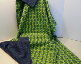 "40x60 Weighted Sensory Blanket for teen or adult, custom made in Canada, machine washable, reversible, non toxic, Facebook:  ""Nancy Sews"""