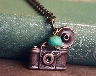 The Vintage Camera Necklace