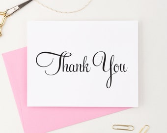Thank You Cards Wedding, Thank you cards Baby shower, Thank you note cards, Thank you notes Wedding, Any Occasion - (Set of 150), WFS05