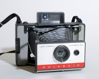 Vintage Polaroid 104 Land Camera | Hipster Decor | Crafters delight