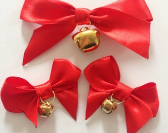 Bows with bells