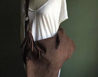 Cocoa Bison Crossbody- 1114