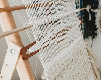 Frame Loom Heddle Mini Class | Online eBook Weaving Tutorial | Add a Heddle to ANY Loom