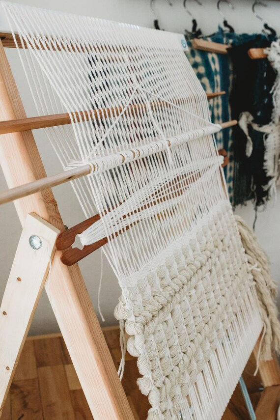 Frame Loom Heddle Mini Class Online eBook Weaving Tutorial