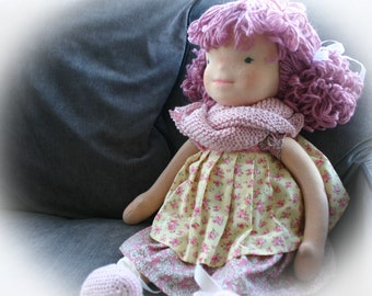 Waldorf, Waldorf inspired dolls, Waldorf doll, ooak doll, collectable doll,  natural doll, collectible doll, handmade doll, textile doll