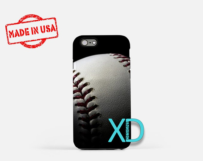 Baseball iPhone Case, Sports iPhone Case, Baseball iPhone 8 Case, iPhone 6s Case, iPhone 7 Case, Phone Case, iPhone X Case, SE Case New