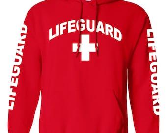 Lifeguard Red Hoodie