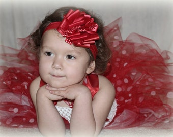 Minnie Mouse Red Themed Tutu