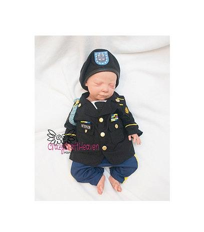 Baby Dress Uniform Military Dress Uniform Baby Uniform Baby