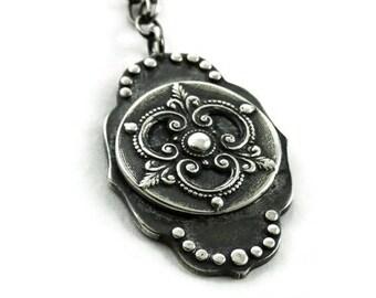 Silver Ravenna Necklace