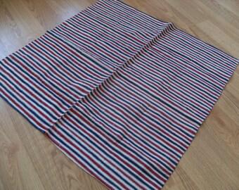 "Cotton tablecloth, COTTON, handvoven ,32"" x 31"" ,square tablecloth,"