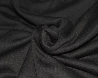 "Brown Rayon Jersey Knit Fabric 60"" Wide"
