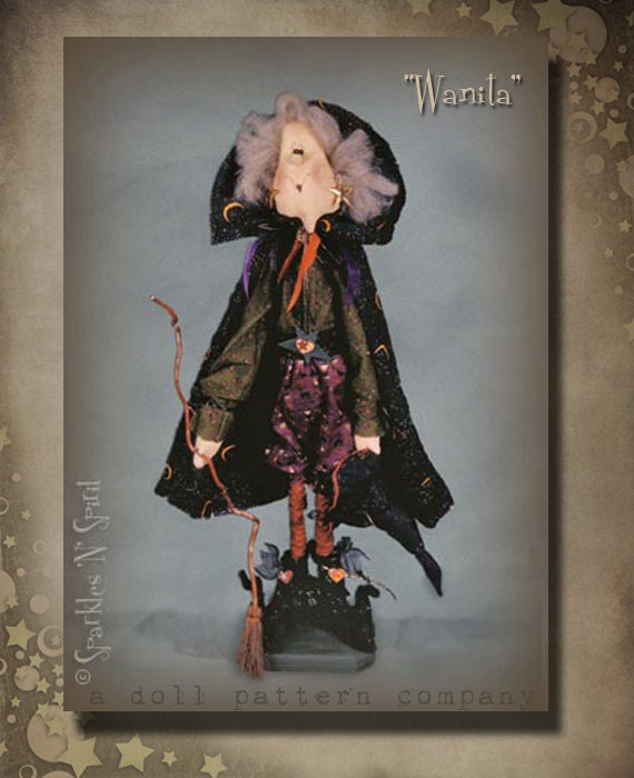 "Pattern: Wanita - 30"" Witch"